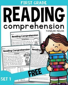 Free First Grade Reading Comprehension Passages  Set 1  First Grade Activities Pinterest