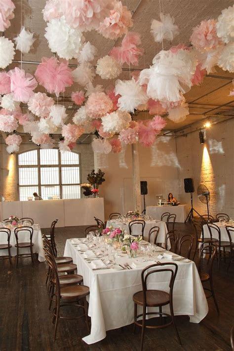 prettiest pom poms decor ideas   wedding page
