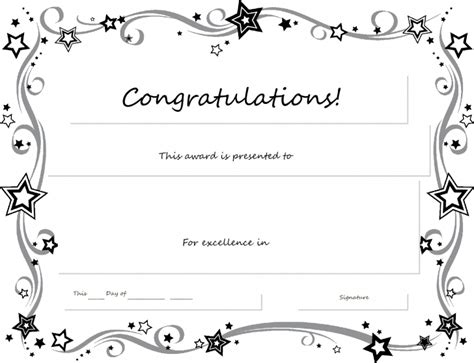 black and white gift certificate template free certificate template word certificate templates trakore document templates