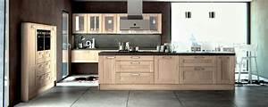 Cuisine équipée En Bois : cuisine moderne bois massif le bois chez vous ~ Edinachiropracticcenter.com Idées de Décoration