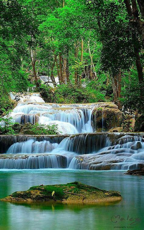Erawan National Park Thailand Bobbies Pinterest