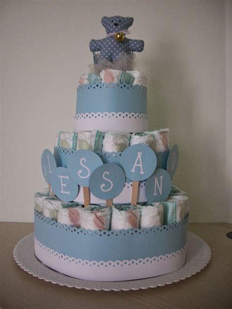 di pannolini l angolo fatato di fef 232 torte di pannolini in azzurro