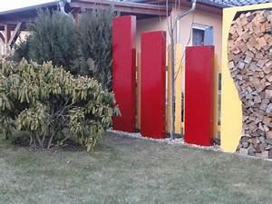 Sichtschutz 100 Cm Hoch : stele sichtschutz 180 cm hoch und 35 cm breit ~ Bigdaddyawards.com Haus und Dekorationen