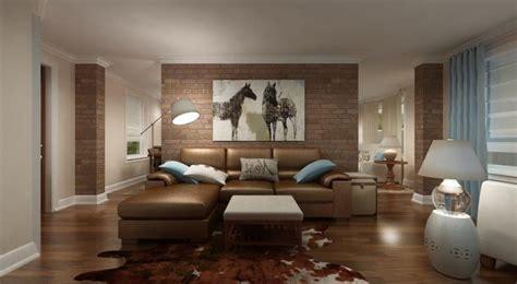 wohnzimmergestaltung mit farben und bildern  frische
