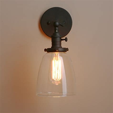 loft vintage wall light dia 5 6 wall l with oval clear