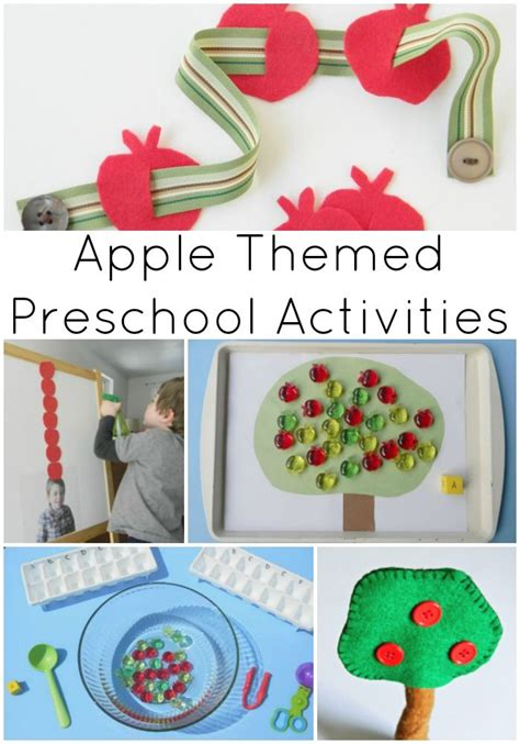 apple themed preschool activities activities plays and 555 | 181d42e7e2aa8b5585dccd9c6c16abac