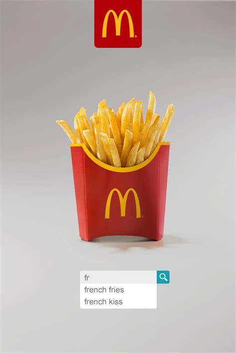 mcdonalds outdoor advert  leo burnett french fries
