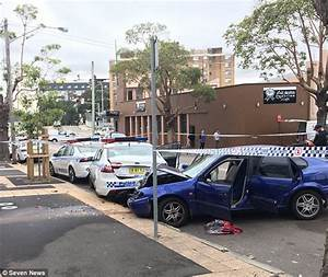 Sydney man arrested after 'ramming' cop cars at station ...
