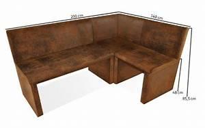 Eckbank 120 X 160 : sam esszimmer eckbank wilson in wildlederoptik stoff 200 ~ Bigdaddyawards.com Haus und Dekorationen