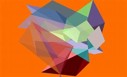 Colorful Geometry Cube Minimalism Desktop Backgrounds Wallpapers
