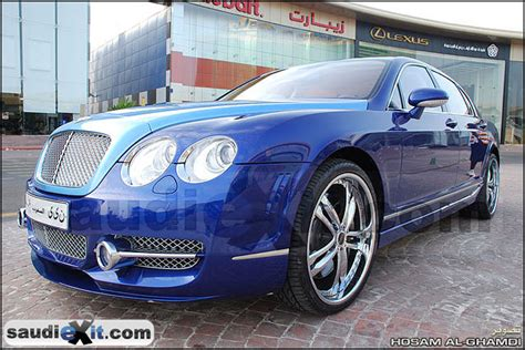 Bentley Flying Spur Modification by Saudi Exit 2008 Bentley Continental Flying Spur Specs