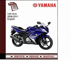 Yamaha Yzf-r15 2008-2011 Service Manual