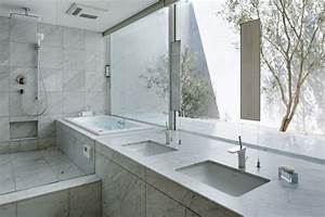 maison zen avec facade en verre a hiroshima With salle de bain design avec eolienne de jardin décoration