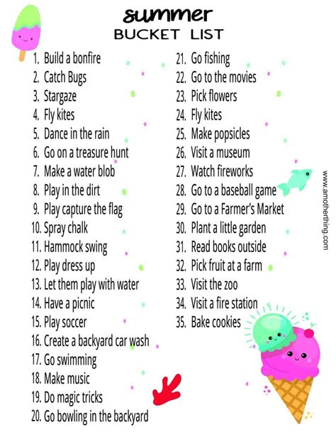 20 Fun Summer Activities to Do With Your Toddler + Free