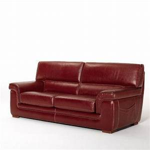 17 meilleures idees a propos de canape cuir rouge sur With canape cuir rouge buffle