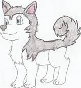 Husky Chibi Drawings Puppy Cartoon Coloring Sketch Soki Ae Deviantart Template Imgarcade Credit Larger sketch template