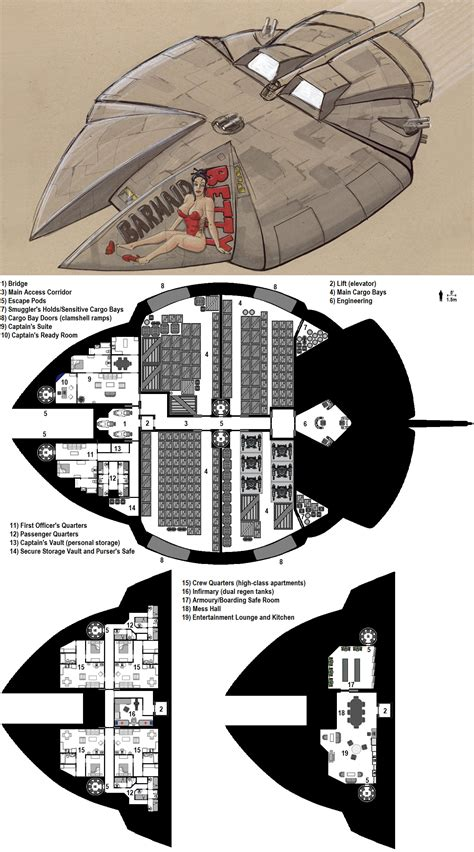 Starship Deck Plan Generator by Antares Deckplans By Breandan Ociarrai On