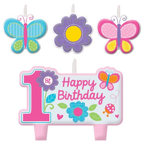 Girls 1st First Birthday Sweet Birthday Girl Butterfly