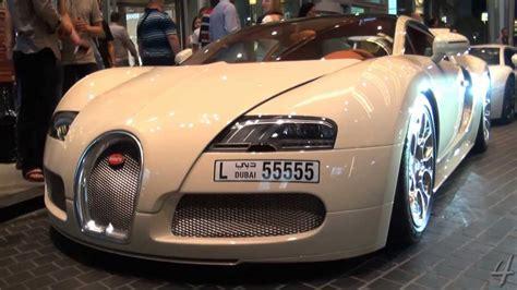Beige Bugatti Veyron Grandsport