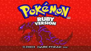 pokemon ruby and sapphire 3ds remakes