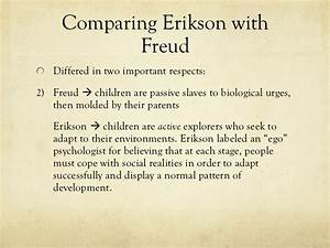 difference between freud and erikson