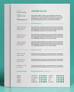 20 free editable cv resume templates for ps ai free resume With free editable resume templates