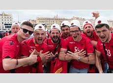Ambiance de fête à Marseille en amont du match France