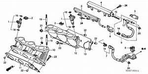 Fuel Injector  V6  For 2004 Honda Accord Sedan