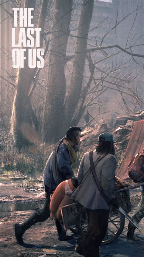 the last of us iphone wallpaper wallpaper 750x1334 the last of us city doomsday