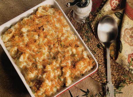 casserole en cauliflower en casserole recipe dairy goodness