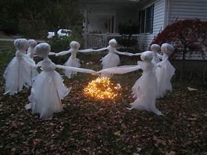 Deco Halloween Diy : 20 easy and cheap diy outdoor halloween decoration ideas ~ Preciouscoupons.com Idées de Décoration
