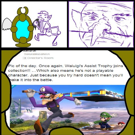Waluigi Memes - did somebody say waluigi memes by terrafinrules on deviantart