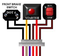 Kawasaki Gpz Turbo Wiring Diagram by Kawasaki Gt750 P1 Shaft Uk Spec Colour Motorcycle Wiring