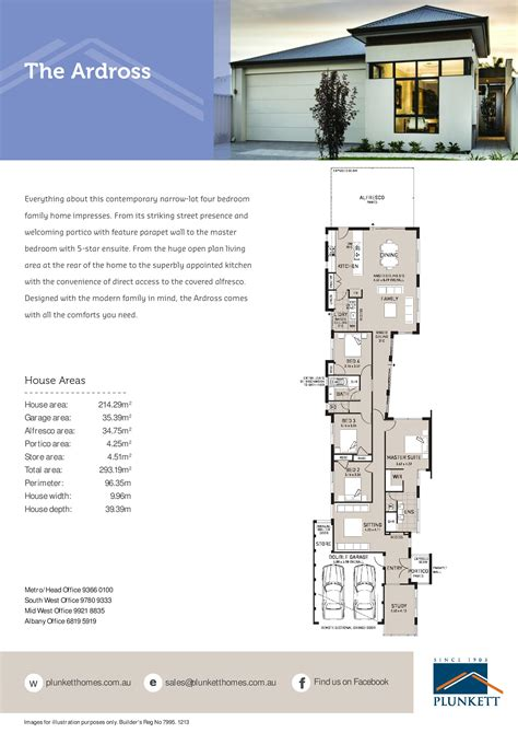 narrow home floor plans narrow lot house plans single storey narrow lot homes