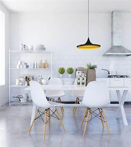 salle a manger design contemporain ambiance et deco With salle À manger contemporaineavec salle a manger contemporaine blanche