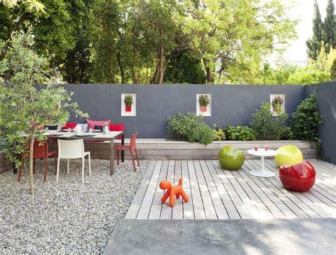 realiser une banquette exterieure jardins terrasse