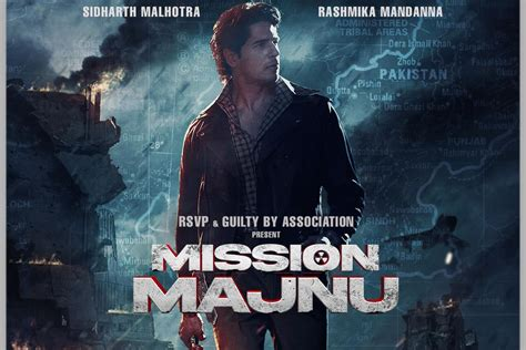 In Picture: First look of Sidharth Malhotra in 'Mission Majnu'