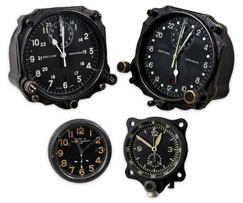 comptoir aviation voici un lot de quatre montres a 233 ronautiques d 233 poque et d