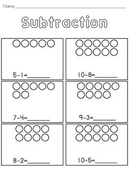 basic subtraction  pictures  dcd special tpt
