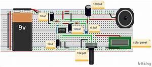 Circuit Diagram For Audio Transfer Using Led And Li