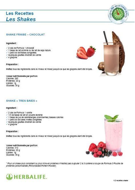 recette cuisine musculation les 25 meilleures idées de la catégorie herbalife shake