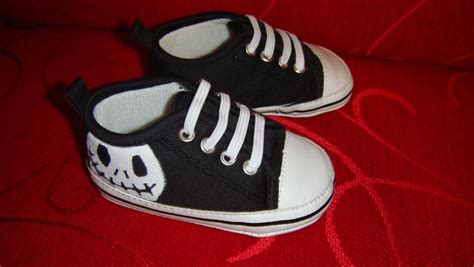 Where To Find Shower Shoes by Baby Boy Skellington Shoes By Coconutcorner On Etsy