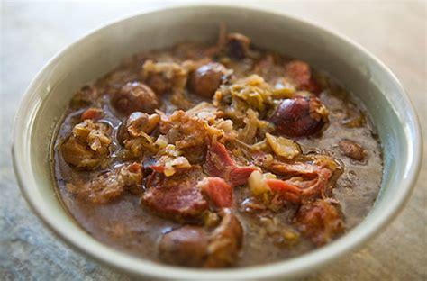 faire un roux cuisine bigos pologne plat traditionnel de noel docteurbonnebouffe com