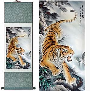 Aliexpress.com : Buy Tiger painting traditional Chinese ...