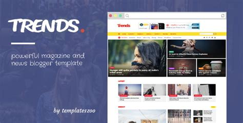 trends blogger template  blogger themes