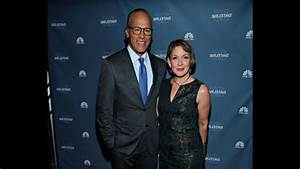 Lester Holt and his wife Carol Hagen - YouTube