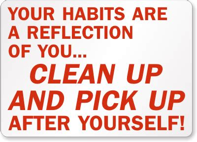 Clean Yourself Quotes