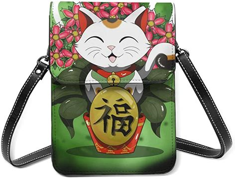 To some extent, the process of acceptance and rejection for credit cards here in japan does appear to be somewhat random. Lucky Japanese Cat Small Crossbody Bag Cell Phone Purse Wallet with Credit Card Slots for Women ...