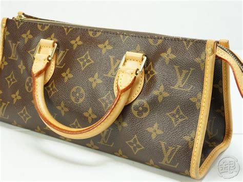 authentic louis vuitton monogram popincourt handbag purse ginza japan  shop