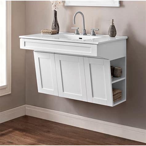 wall mounted vanity fairmont designs shaker americana 36 quot wall mount vanity